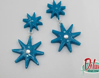 Starbursts - Dangle earrings