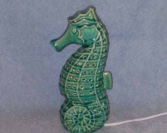 Seahorse Nightlight - Nautical Theme