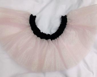 Baby Pink Sparkle Tulle Skirt Glitter