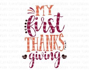 1st thanksgiving svg, thanksgiving baby svg files, thanksgiving boy svg, first thanksgiving svg, svg thanksgiving, new baby thanksgiving