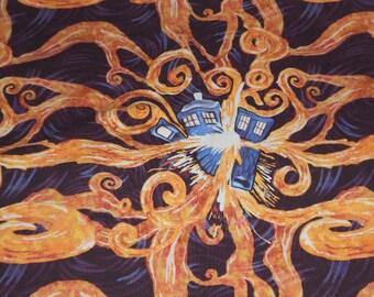 Knit fabric,  custom knit, skulls, Tardis, apothecary, tesla, lightening, lace, butterfly, nightmare before christmas, cotton lycra fabric