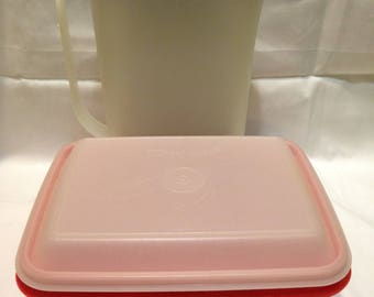 Tupperware Pitcher and Storage Container