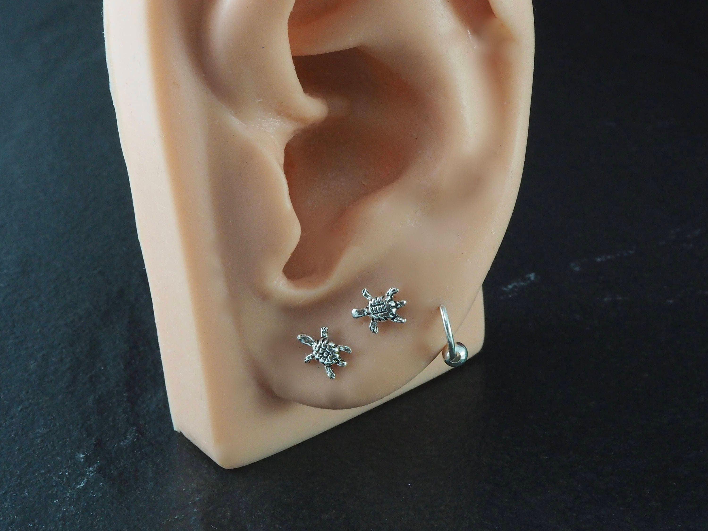 and stud products topaz earrings pin simple blue mm