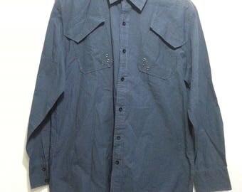 vintage 90s dolce and gabbana men shirt button downs size XL