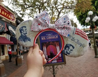 Great Moments with Mr. Lincoln themed ears