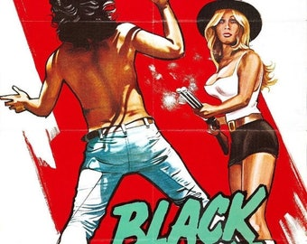 Summer Sale BLACKSNAKE! Movie POSTER Russ Meyer