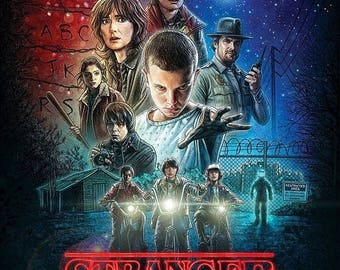 Summer Sale Stranger Things Movies Poster Style A (2016)