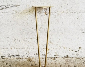 20% OFF Set of 4 Golden Hairpin Legs | Gold Color Powder coated Table Legs 6'' 8'' 10'' 12'' 14'' 16'' 18'' 20'' 27'' 28'' 29'' Inch Inches
