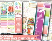 Bookworm Planner Stickers - No White Space Kit