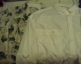 Columbia Sport Shirts Guide and Large mouth Bass boih L one S/S and one L/S