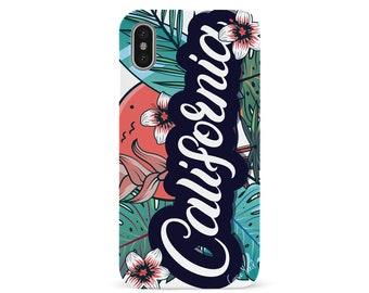 iPhone X Case iPhone 8 Plus Case iPhone 8 Wood Case iPhone 7 Plus Case iPhone 7 Case Samsung S8 Plus Case Samsung S8 (UV) California Flowers