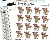 Mother and Daughter Planner Stickers - Family Planner Stickers - Mom Planner Stickers - Character Stickers - Dog Planner Stickers  - 1580