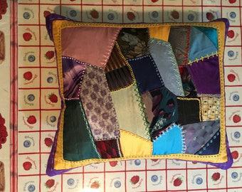"""Crazy Quilt Pillow 16x14"""""""