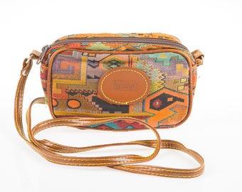Vintage Cose Italiane Multi Colour Shoulder Bag
