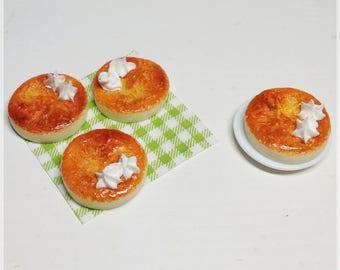 Toasted egg yolk