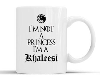 New Designer Game Of Thrones Khaleesi Im Not A Princess Mug