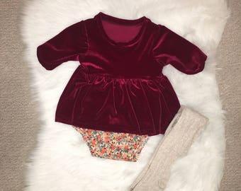 Baby christmas dress   Etsy