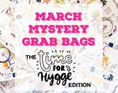 March 2018 MYSTERY GRAB BAGS | Planner Stickers | Mini Stickers | Stationery Goodies | Fantastic Value!