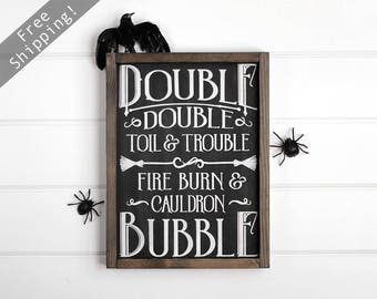 Rustic Halloween Decorations for Wall, Halloween Rustic Decor Wall Hanging, Halloween Decor, Halloween Gifts, Fall Decor