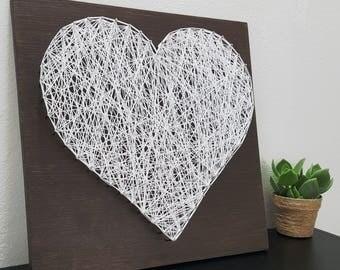 Heart Wall Art - Heart Sign - Wood Heart Signs - Heart Wall Decor - Heart Wood Sign - Heart Art - Wall Art -  Heart Decor