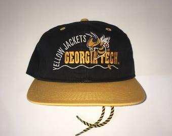 Vintage Georgia Tech Yellow Jackets Adjustable Hat