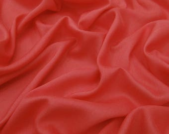 "Decorative Dressmaking Fabric, Handmade, Salmon Fabric, Home Accessories, Rayon Fabric, 45"" Inch Fabric By The Yard PZBR5P"