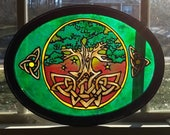 Celtic Tree of life~Stain...