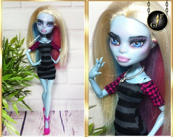 August Giveaway prize Monster OOAK doll high fashion custom
