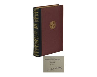 Brave New World ~ ALDOUS HUXLEY ~ Signed Limited Edition ~ First US 1st 1932