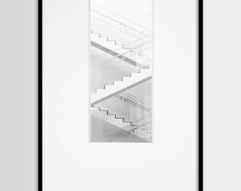 Architecture print, Geometric, Minimalist, Minimal, Modern art, Wall art decor, Digital art, Printable art, Digital Download 16x20, 20x16