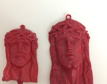 Wax pattern for jewelry casting christ Head