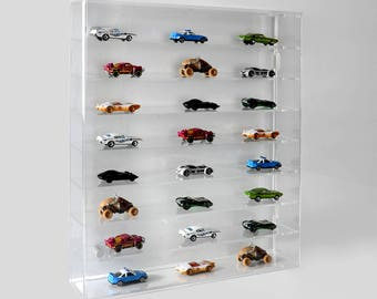 Model Car Wall Display Case | Toy Car Wall Mounted Shelving Display |  Collectible Display Shelves