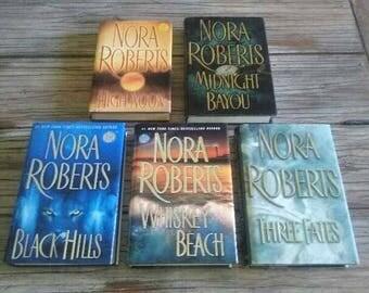 Nora Roberts Hardcover Books