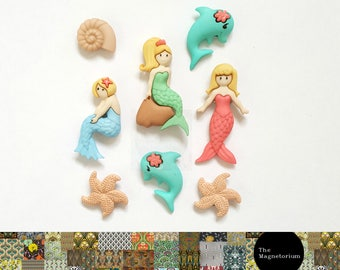 Mermaid Fridge Magnet Set
