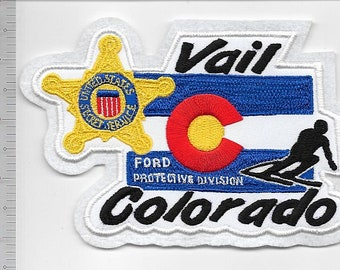 US Secret Service USSS Colorado President Ford Protective Division Agent Detail