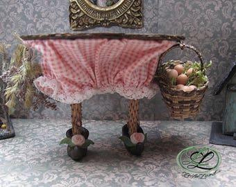 Table miniature 1/12th World magical, whimsical, fairy tale...