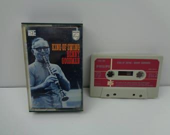 Benny Goodman The King of Swing Cassette Tape