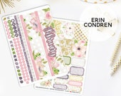 Monthly Planner Stickers Kit Made To Fit The Erin Condren Life Planner | You pick the month!  543L1-2