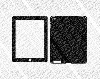iPad 3 Skin template for cutting or machining - Digital Download for plotters, CNCs, Laser cutters, Silhouette Cameo, Cricut | 11 CUT Files