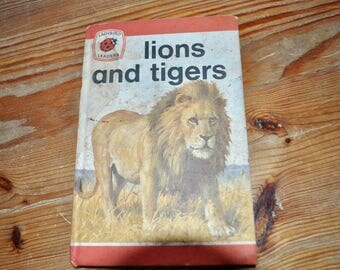 Vintage Ladybird Children's Book. Lions and Tigers by John Leigh-Pemberton. 1974. First Edition.