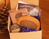 Perfect Gift for a Man With a Beard!/Valentines Day gift for him/Gift for Men/Beard Soap/Beard Balm/Gift for Boyfriend