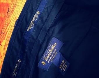 BROOKS BROTHERS Navy Blue Pants 36 x 34
