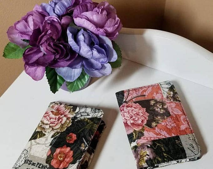 Beautiful snap fabric wallet