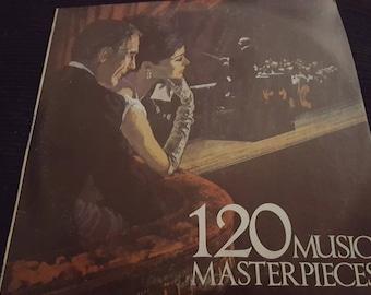 120 Music Masterpieces vintage album