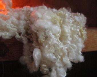 Wool handspun natural Avranchin 68 gr / 23 m approx