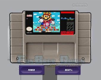 """SPECIAL ORDER! """"Mario Battle Stadium Excitebike"""" Unreleased Super Nintendo SNES Racer!"""