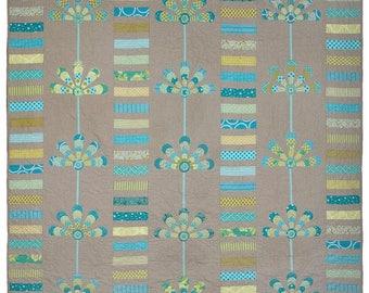 Australis Blooms:  quilt pattern.