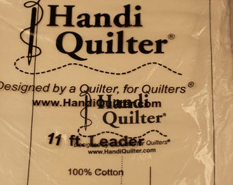 Handi Quilter 11 foot leader for longarm quilting.  This set consists of 3 pieces.