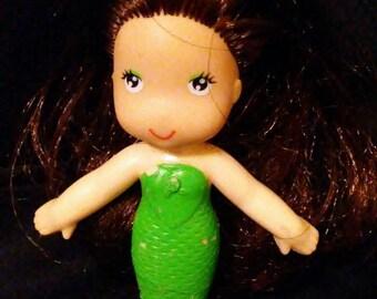 """Vintage 1970s Kenner SEA WEES """"Shelly"""" Mermaid Doll!!!"""