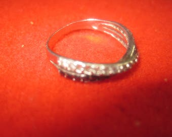 O-20 Vintage Ring size 7 1/4 925  silver